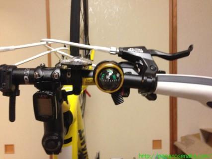 2013_02_16 ダイソー 自転車ベル コンパスタイプ