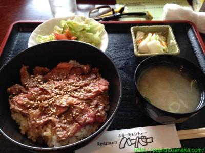 2014_02_22 07 メインのステーキ丼