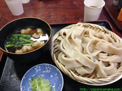 2014_04_13 03 武蔵野うどん 鈴やの肉汁うどん