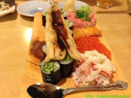 2012_10_13 落語の後の玄海寿司