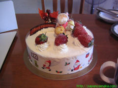 2008_12_21 クリスマスケーキ.JPG